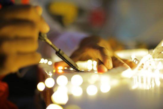 Insegne luminose a led programmabili